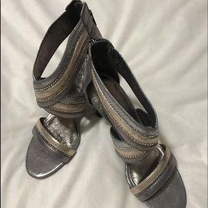 Adrianna Papell Womens Evening Dress Sandals
